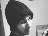 16/11 - N°2 avec son bonnet...
