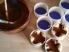 28/11 - Préparation de charlottes au chocolat... #damevivie112015